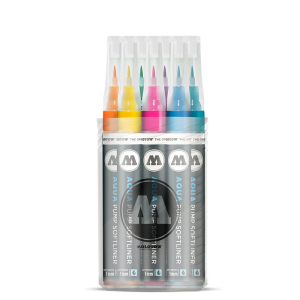 Aqua Softliner Ink Main-Kit  molotow