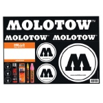 MOLOTOW Sticker Sheet 02