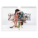 GRAFF ON GIRLS Calendar 2015
