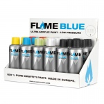 FLAME BLUE 200ml Sales Display