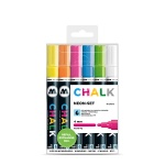 Chalk Marker 4mm Neon Set