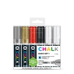 Chalk Marker 4-8mm Basic Set 1