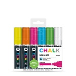 Chalk Marker 4-8mm Neon Set